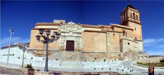 Vista de Santa María la Mayor